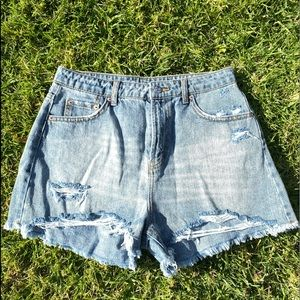 Wild Fable Ripped Jean Shorts